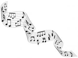 Drawn musician vector