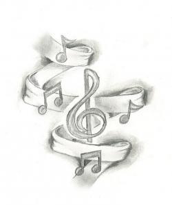 Drawn musician