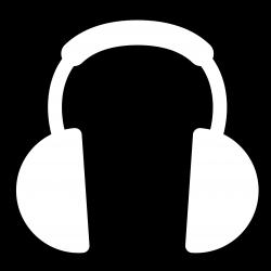 Drawn headphone headset