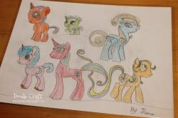 Drawn my little pony 10 year old