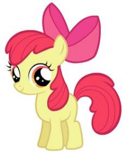 My Little Pony clipart apple bloom