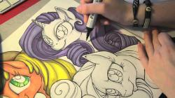 Drawn my little pony awesome