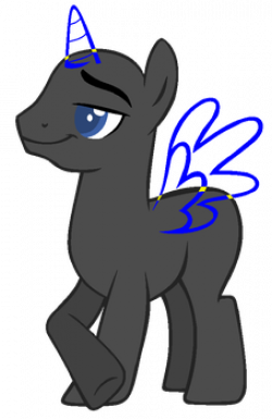 Drawn my little pony base boy