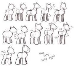 Drawn my little pony body