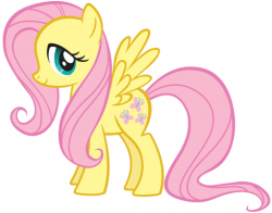 Drawn my little pony fluttershy
