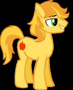 Drawn my little pony guy
