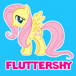 Drawn my little pony name