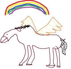 Drawn my little pony paint