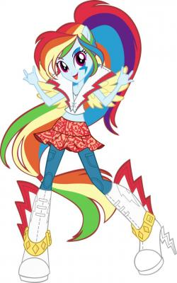 My Little Pony clipart rainbow rock