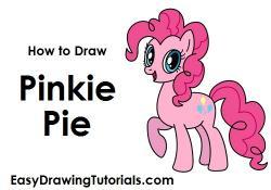 Drawn pies mlp