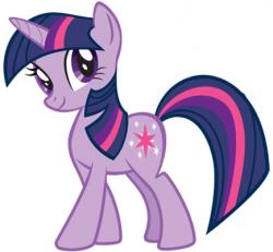 Drawn pony twilight