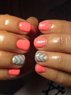 Drawn nail coral