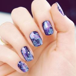 Drawn nail galaxy