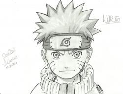 Drawn naruto