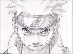 Drawn naruto awesome