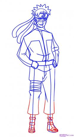 Drawn naruto dragoart