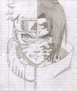 Drawn naruto draw