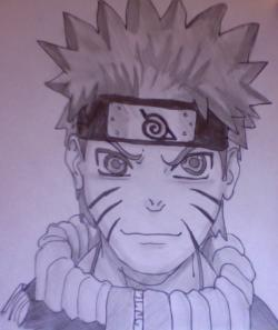 Drawn naruto hand drawn