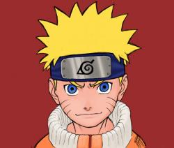 Drawn naruto head