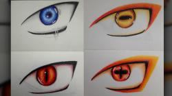 Drawn naruto naruto eye