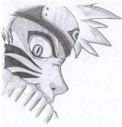 Drawn naruto pencil step by step