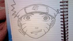 Drawn naruto simple
