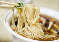Drawn noodle