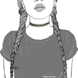 Drawn ponytail france