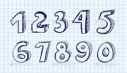 Drawn number vector
