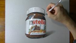 Drawn nutella