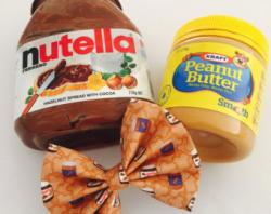 Drawn nutella peanut butter