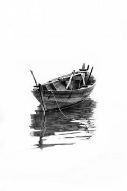 Drawn yacht 3d art