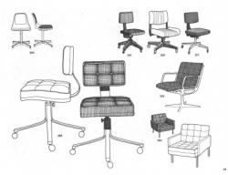 Drawn office office furniture