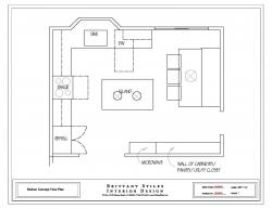 Drawn office plans modern