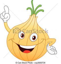 Onion clipart cartoon