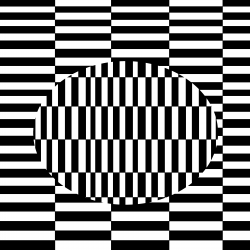 Optical Illusion clipart dark