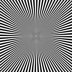 Drawn optical illusion deep