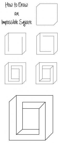 Drawn square