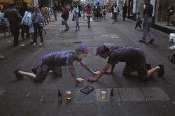 Drawn optical illusion unbelievable