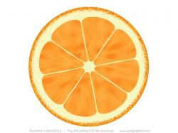 Drawn orange