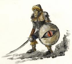 Drawn orc tolkien