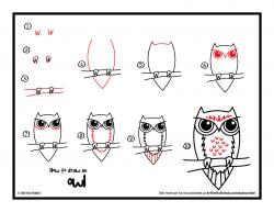 Drawn raccoon art for kid hub