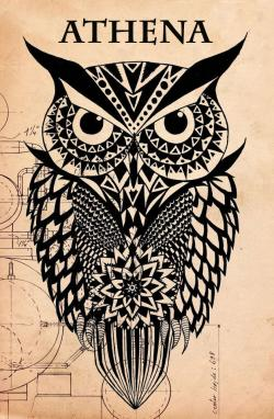 Drawn owlet mythology