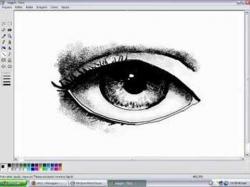 Drawn paint