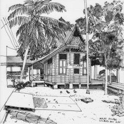 Drawn palace malay