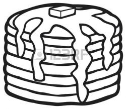 Syrup clipart black and white