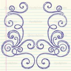 Drawn paper easy