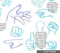 Drawn peace sign anime hand