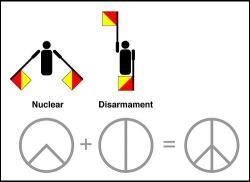 Drawn peace sign illuminati