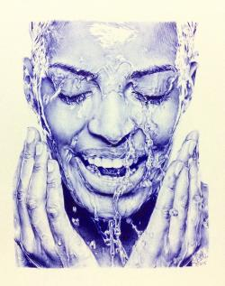 Drawn pen ballpoint pen sketching